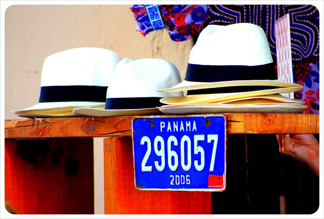 March Panama hats in Casco Viejo panama