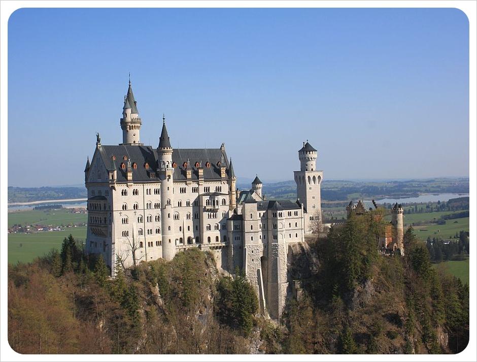 april neuschwanstein castle bavaria germany