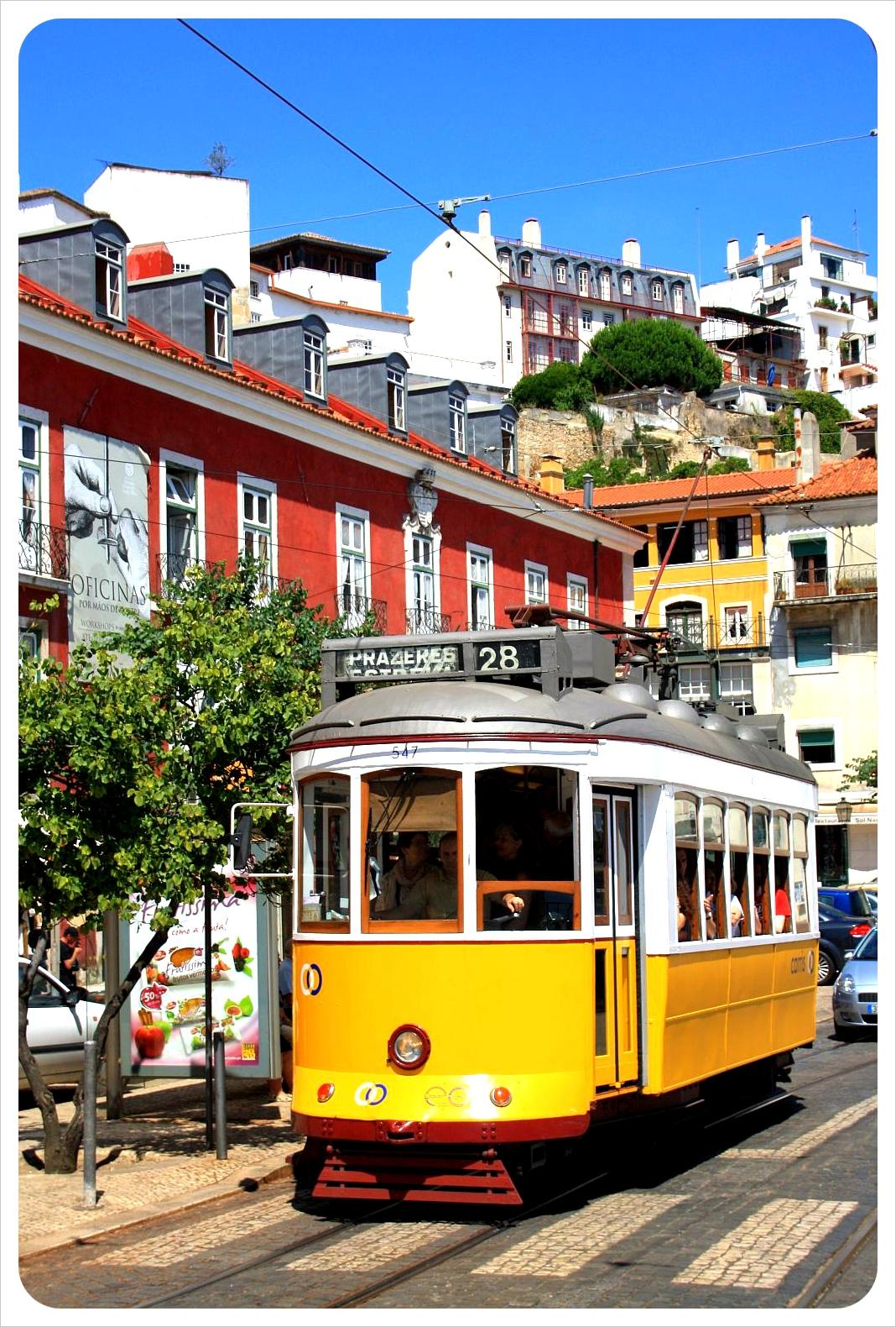june portugal lisbon tram 28