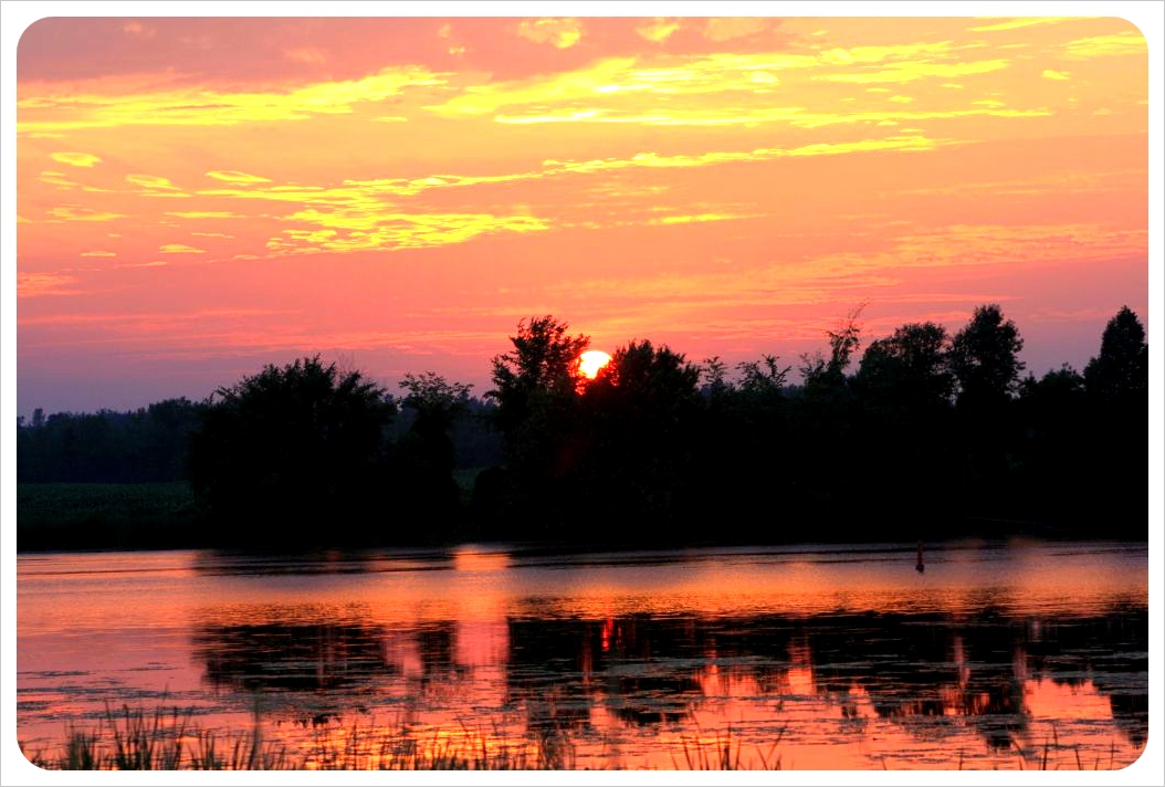 july kemptville ontario sunset