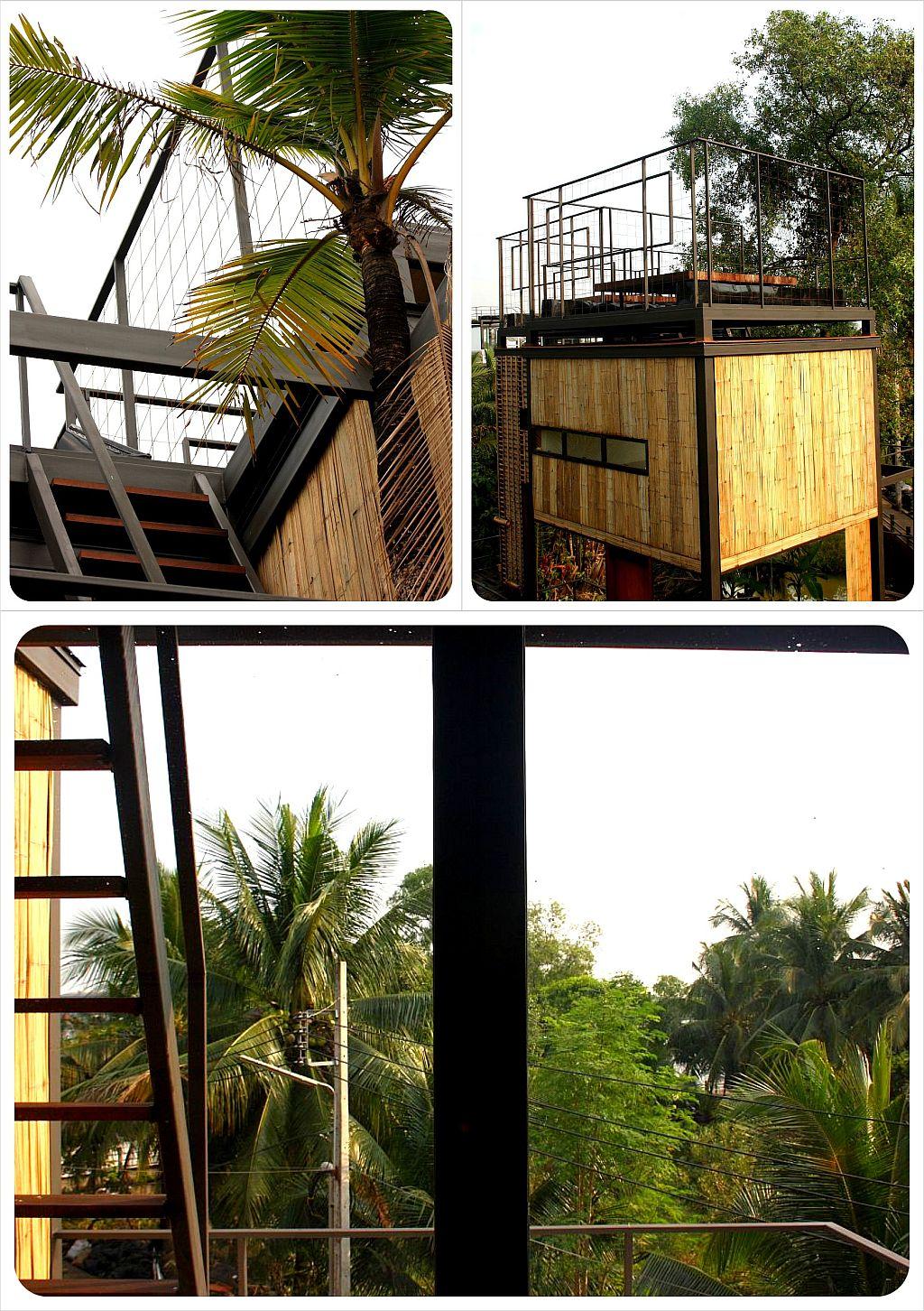 bangkok tree house hotel bungalow