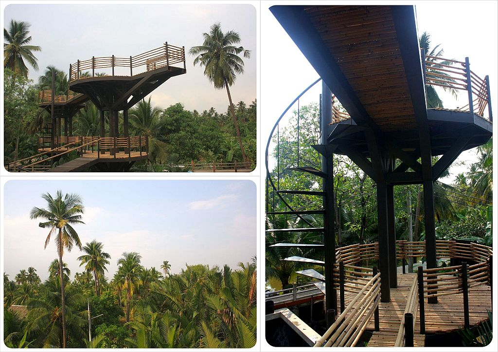 bangkok tree house lookout