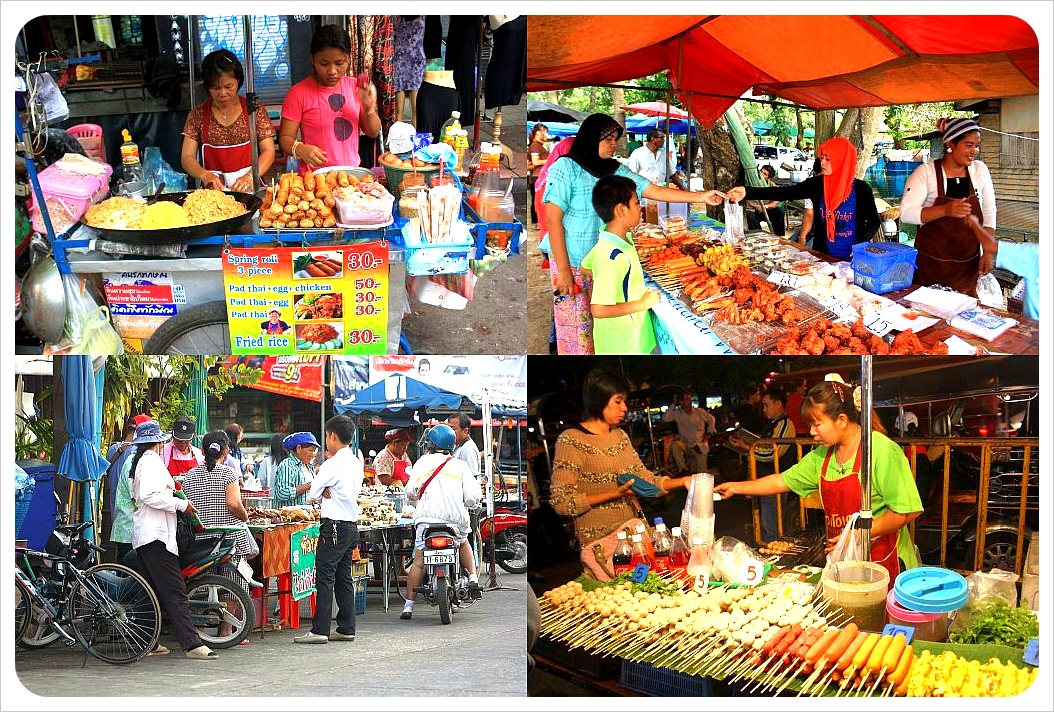 food markets in thailand
