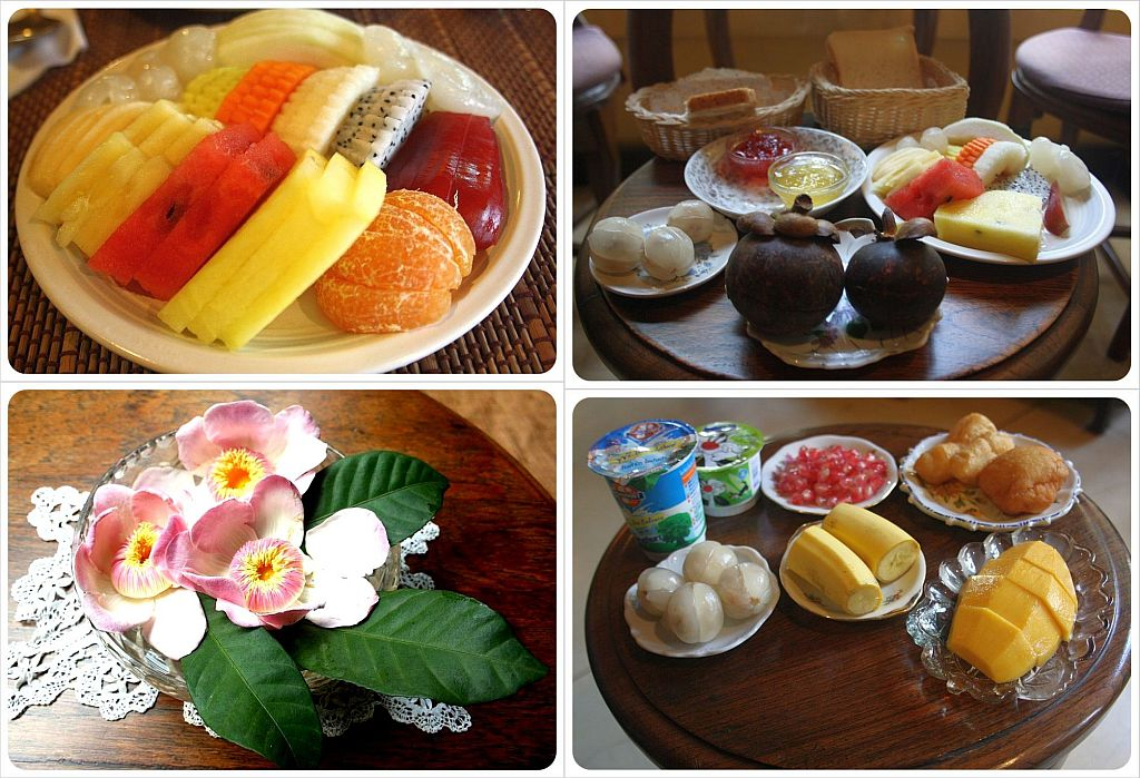 old bangkok inn breakfast selection