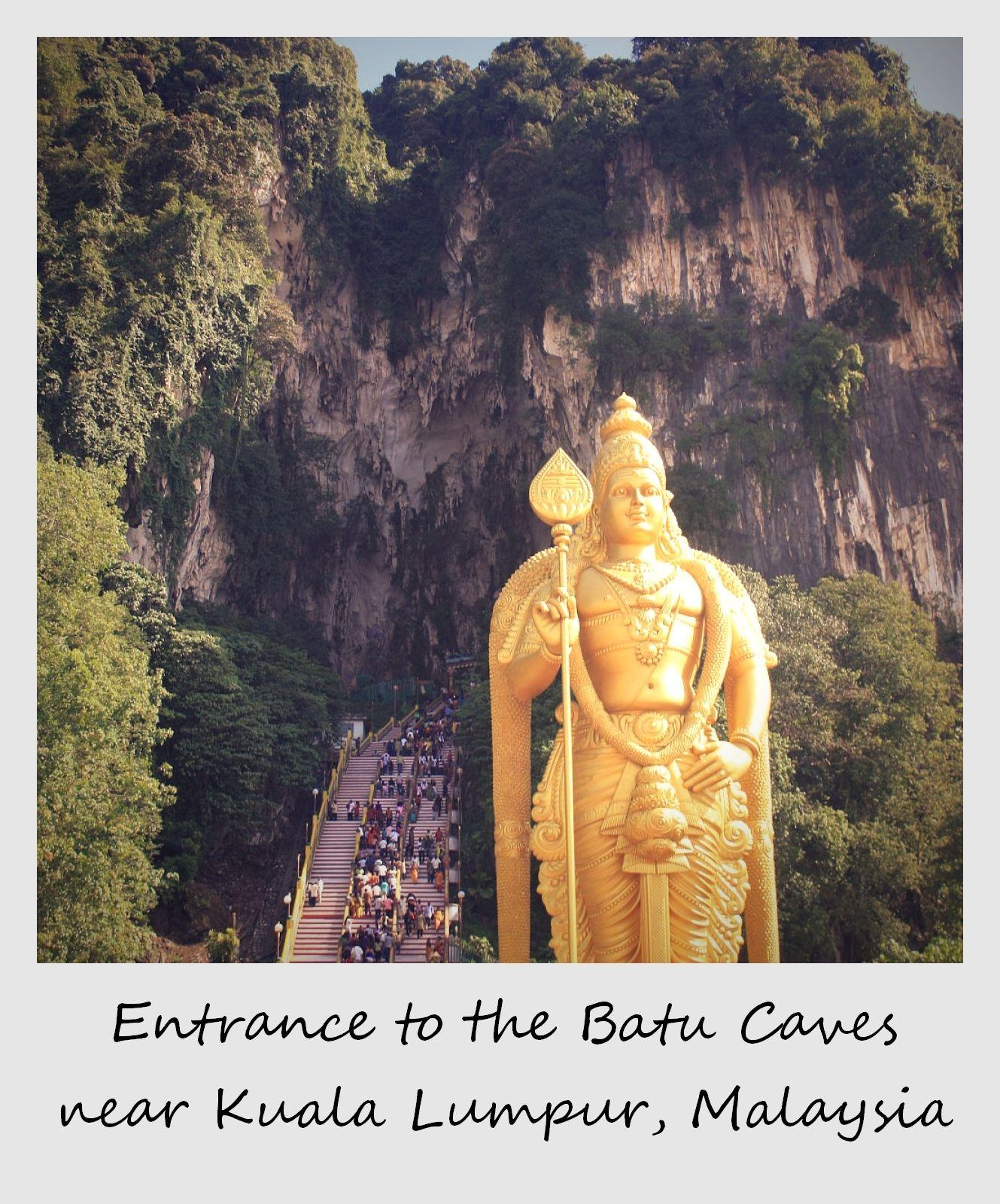 polaroid of the week malaysia kuala lumpur batu caves