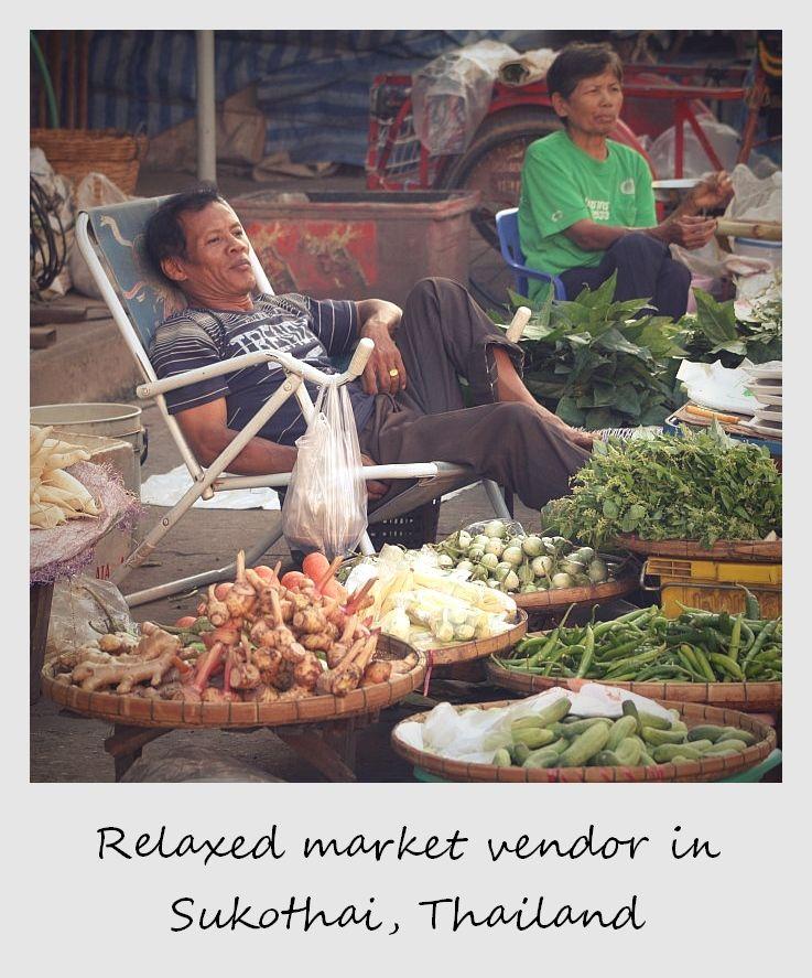 market vendors essay