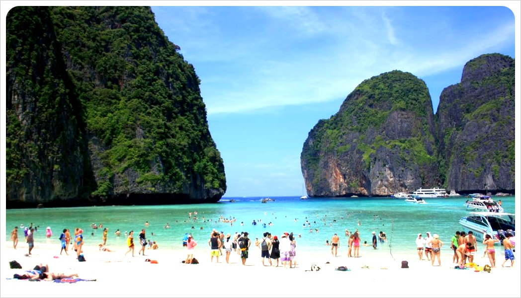 the beach - maya bay