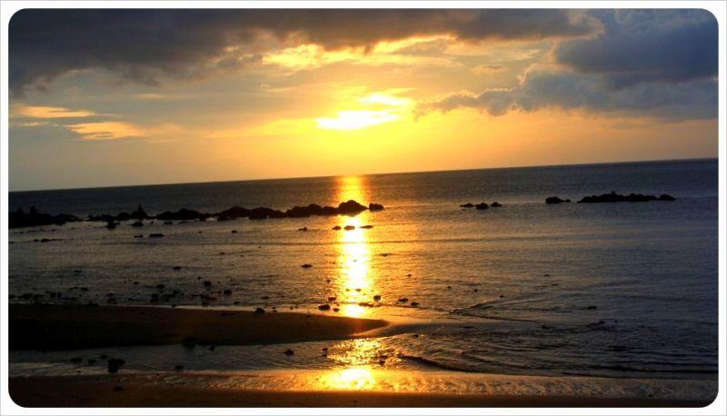 Sunset koh lanta thailand
