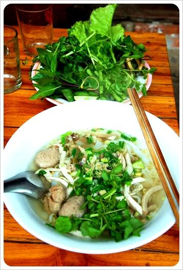 lao breakfast Kao Piak sen