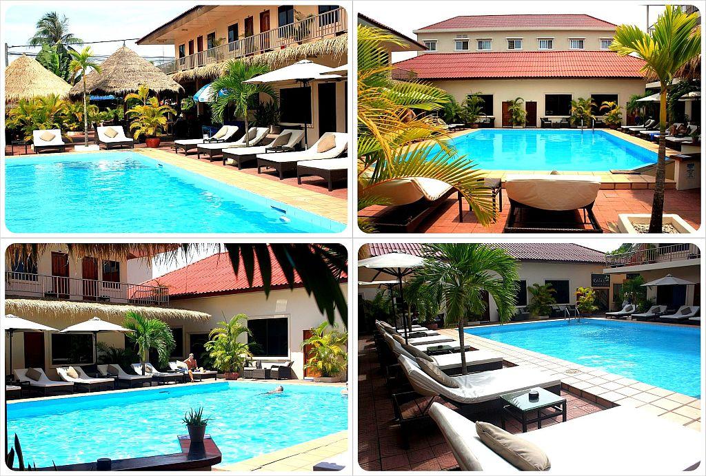 beach club resort sihanoukville swimming pool