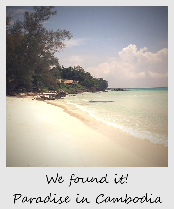 polaroid of the week cambodia koh rong long beach