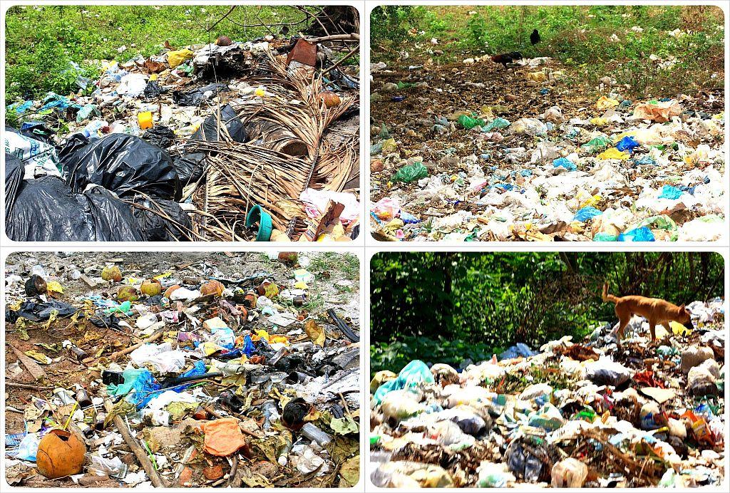 cambodia garbage