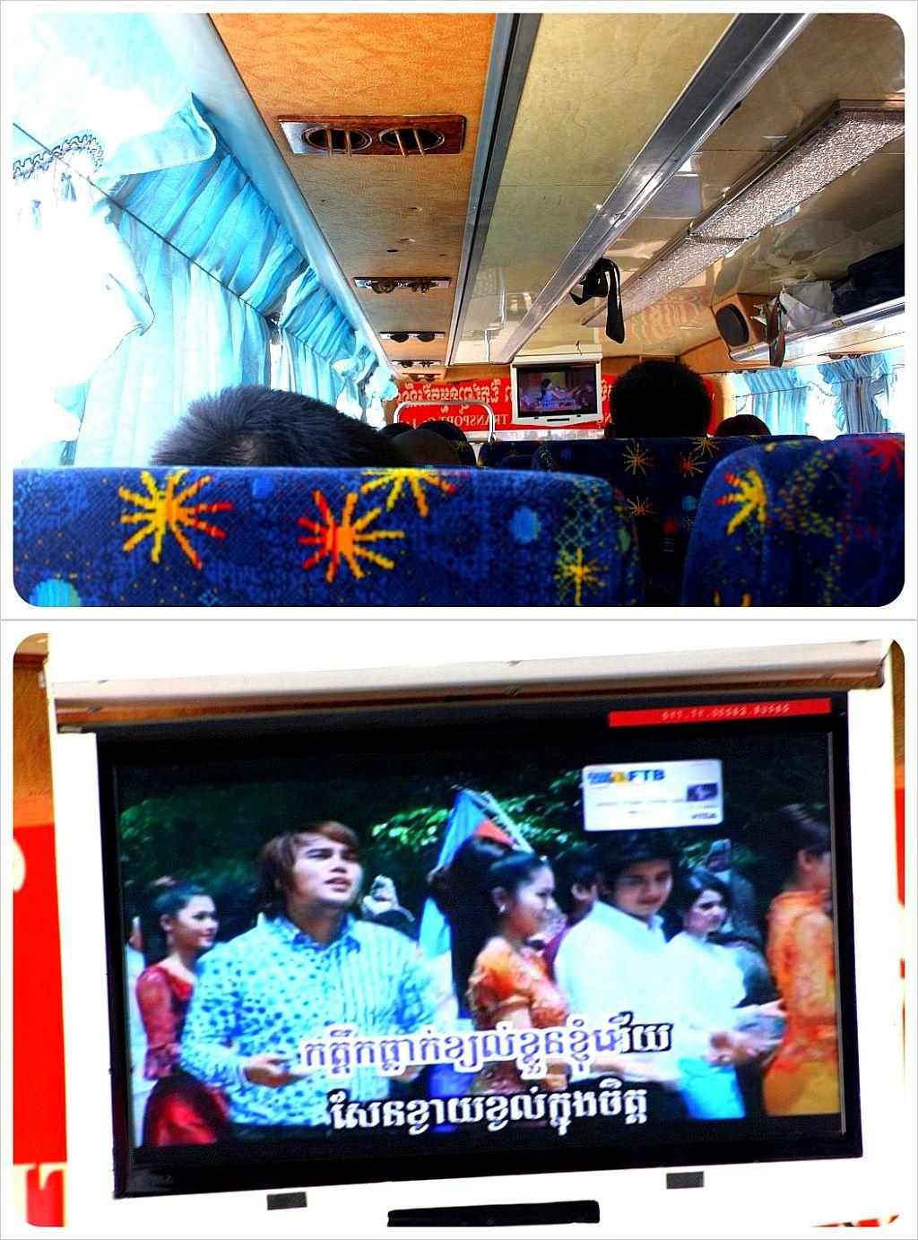 cambodia karaoke on buses