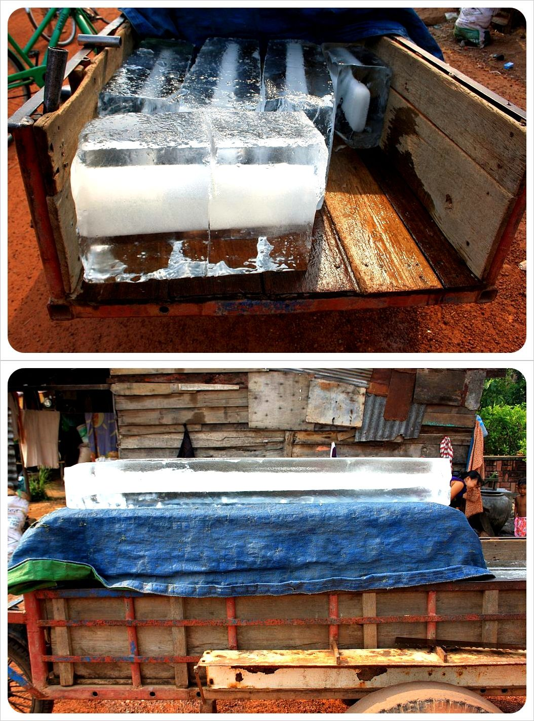 cambodian ice transport