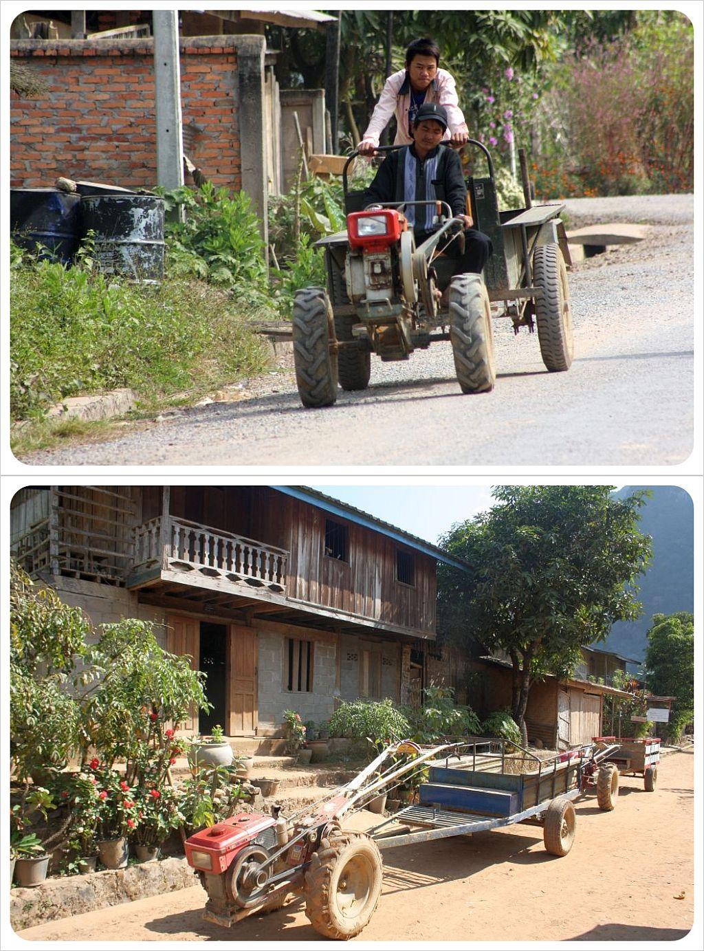 laos tractors
