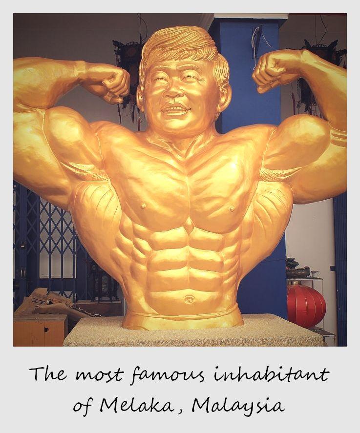 polaroid of the week malaysia melaka bodybuilding champion Datuk Wira Dr. Gan Boon Leong