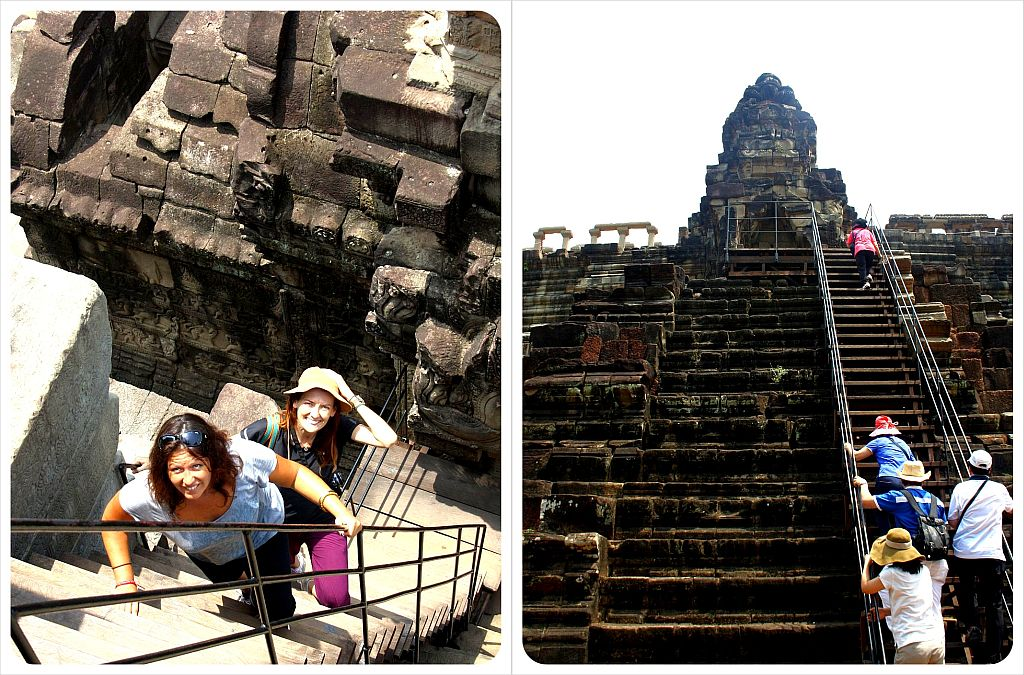 angkor wat temple stairs
