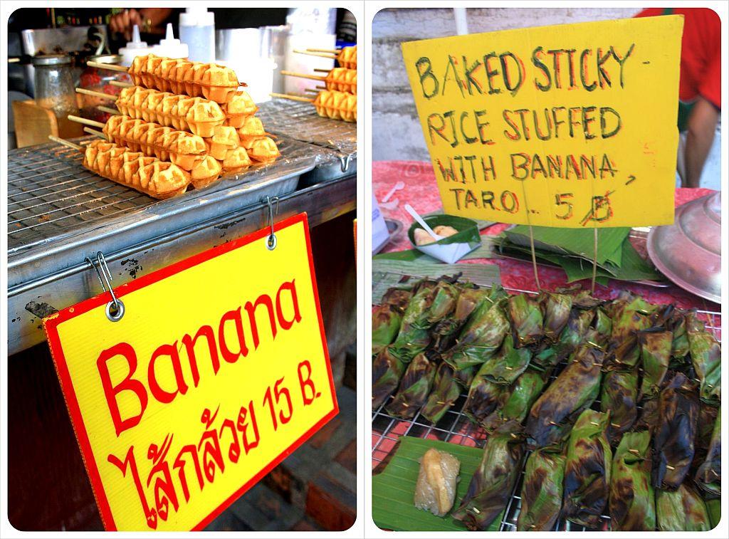banana snacks thailand