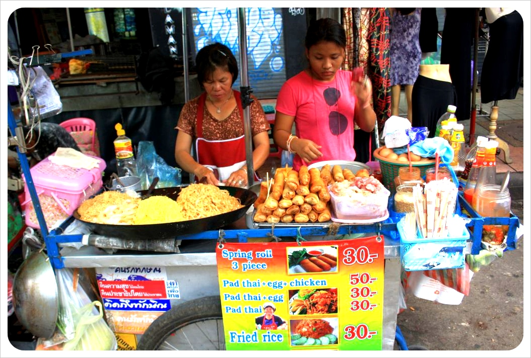 bangkok street food vendors