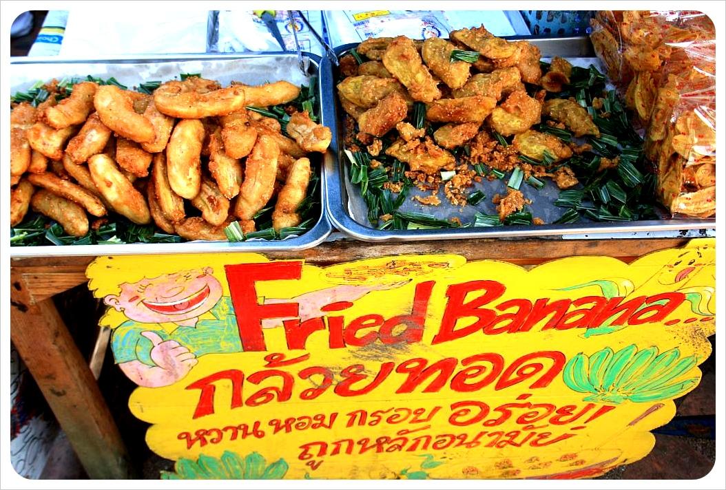 fried bananas thailand