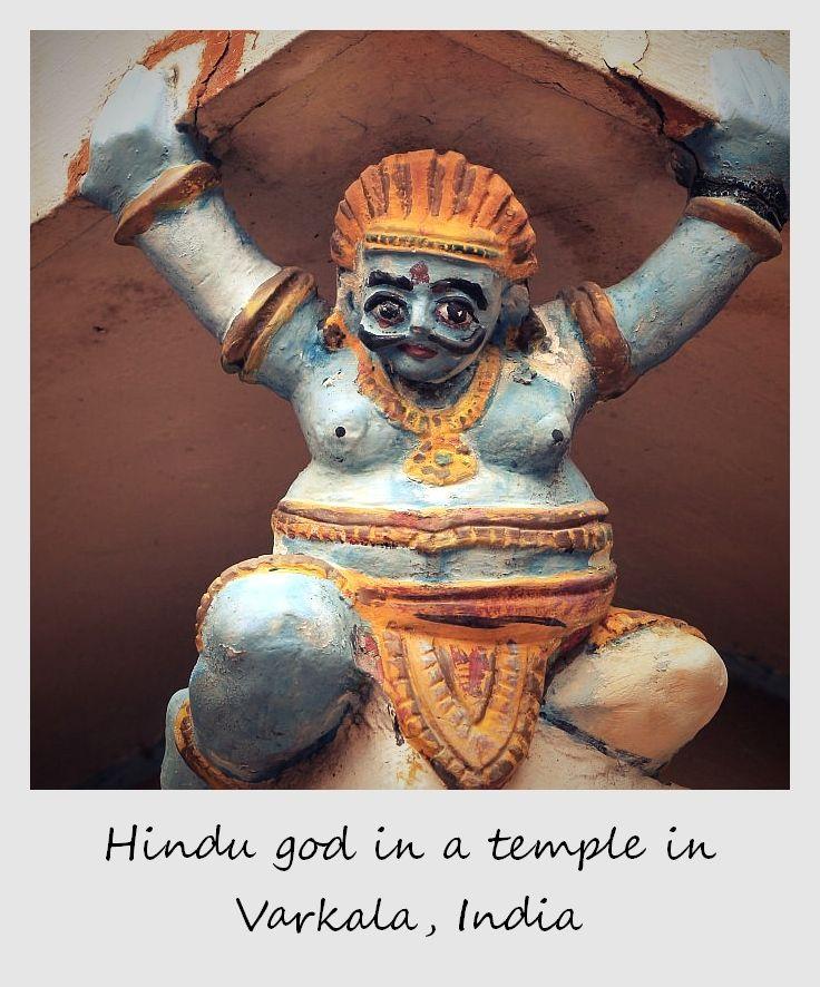 polaroid of the week india varkala temple