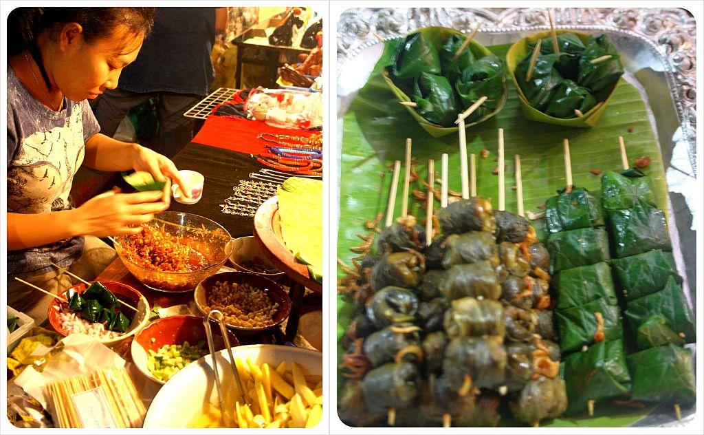 thai snack Mieng Kham
