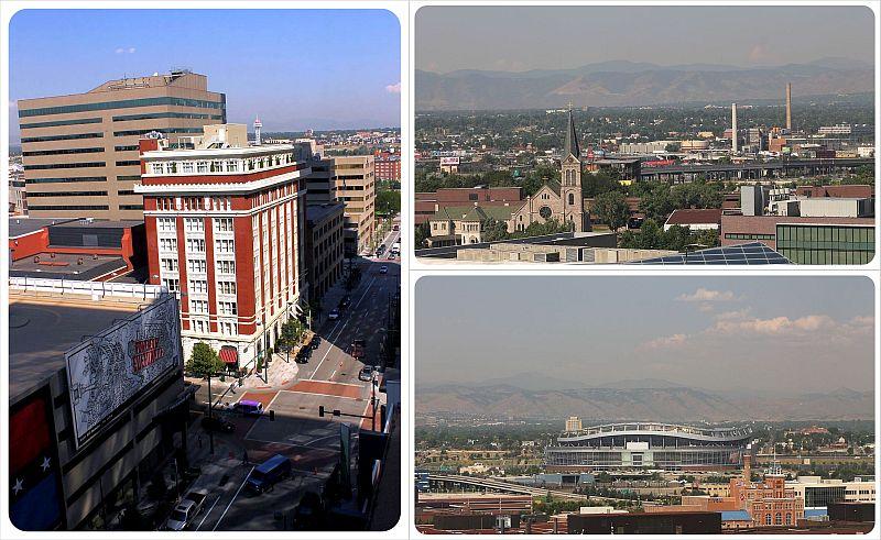 The Curtis Hotel Denver views