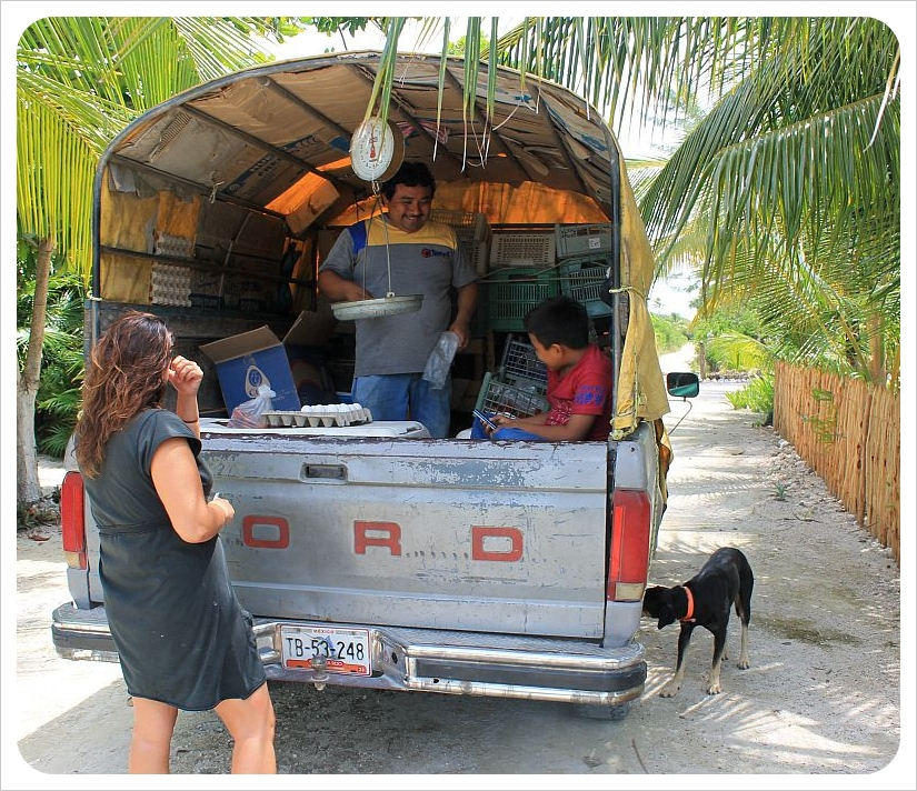 grocery truck mexico