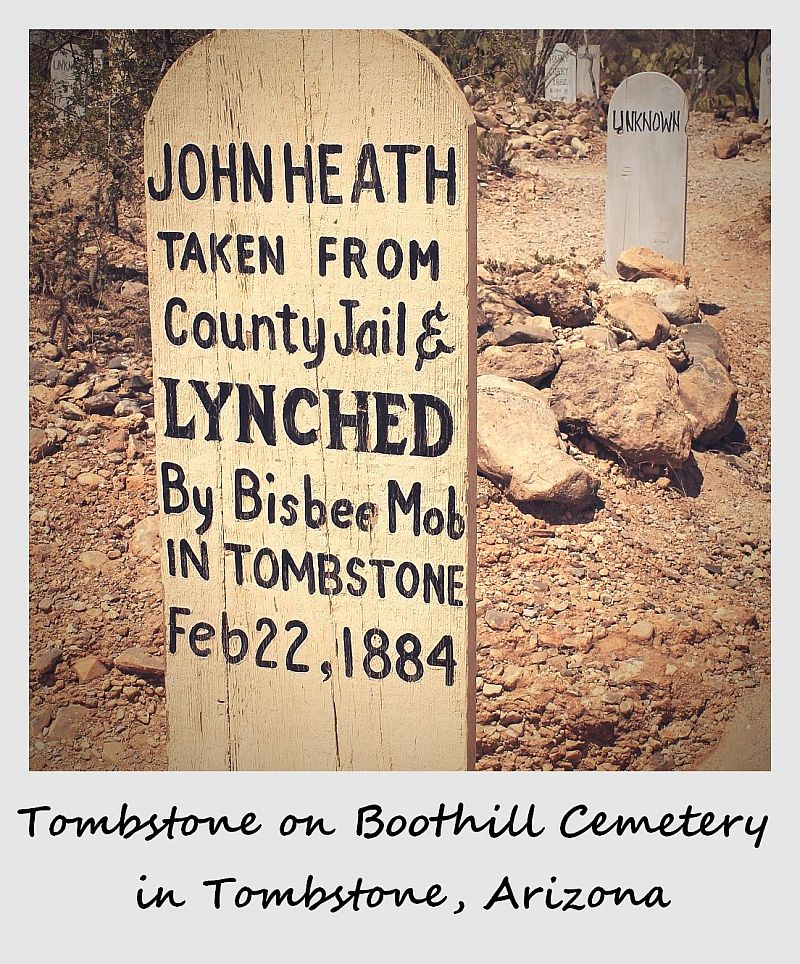 polaroid of the week arizona tombstone tombstones