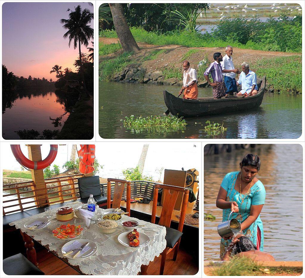 india kerala backwaters