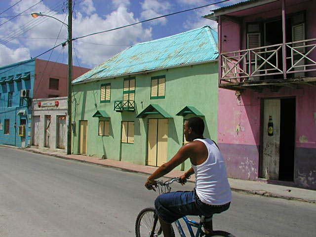 Barbados High Street by Ranveig on Wikicommons