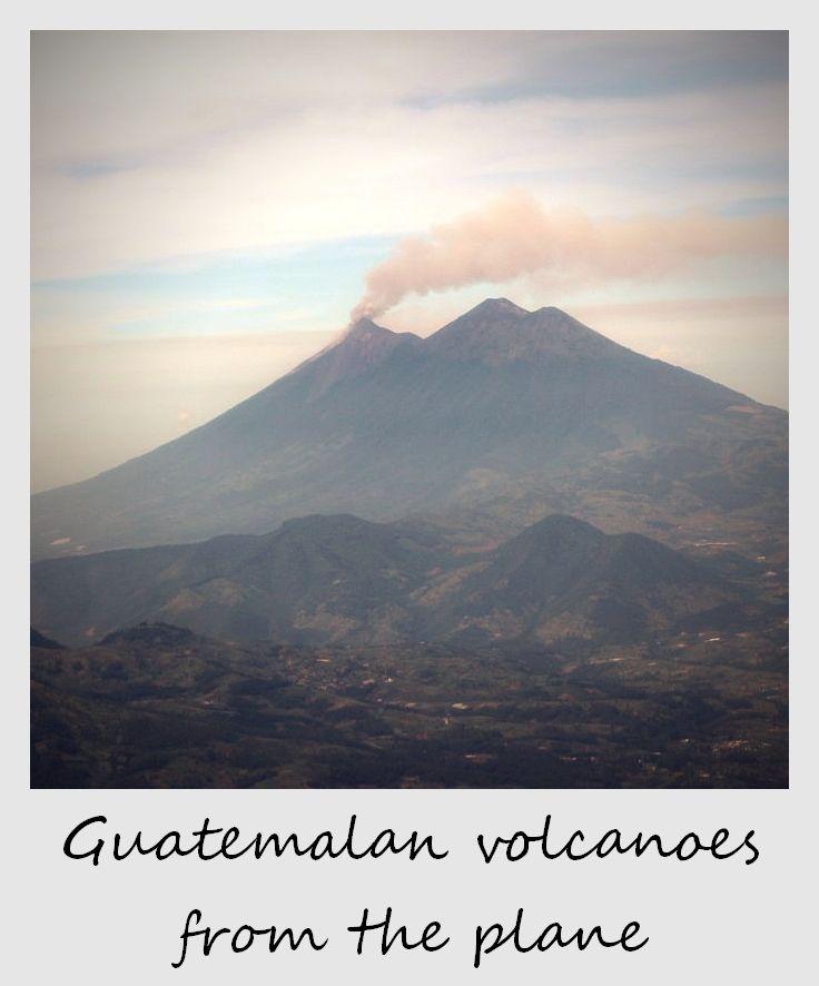 polaroid of the week guatemala volcanoes