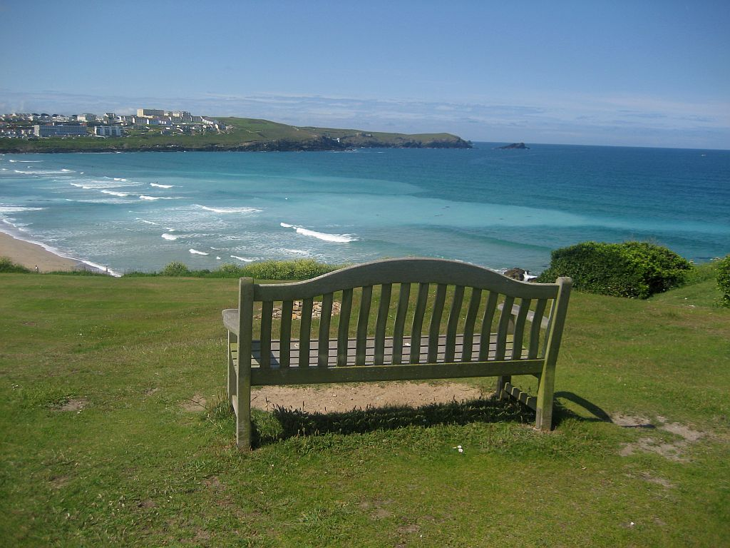 cornwall beach view