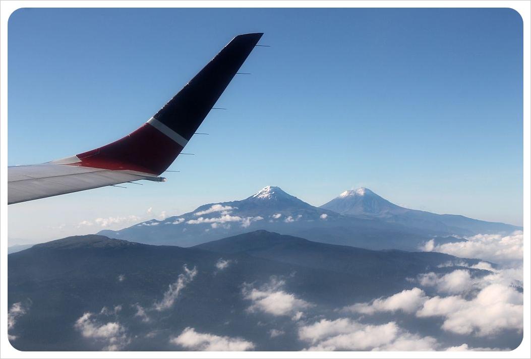 plane over mexico
