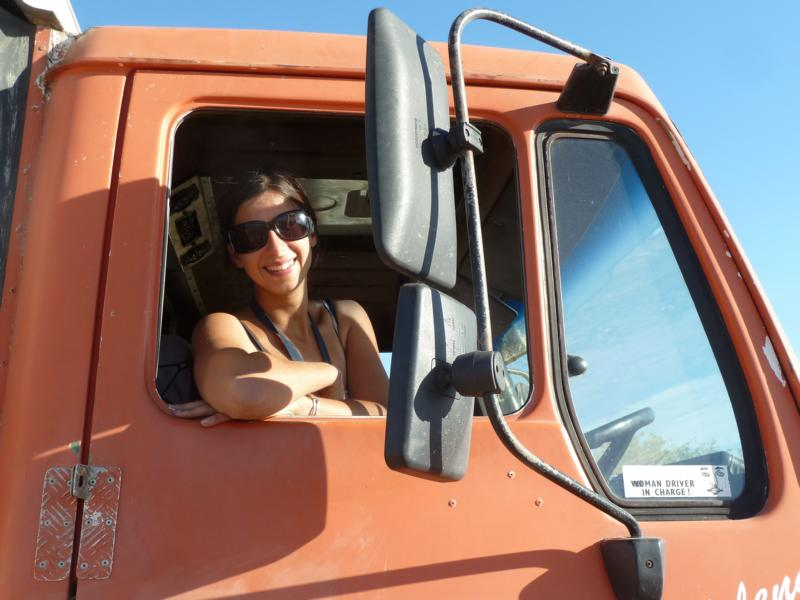 Natalie the Truck Driver