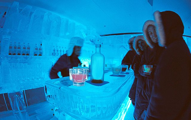 Vegas Minus5 Ice Bar at Mandalay Bay