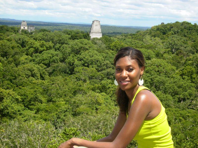 Travelista Andrea Tikal Temple