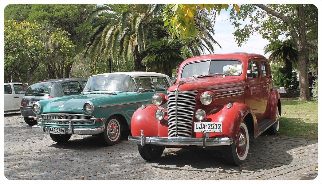 uruguay classic cars colonia del sacramento