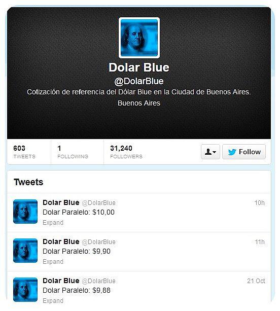 dolar blue twitter