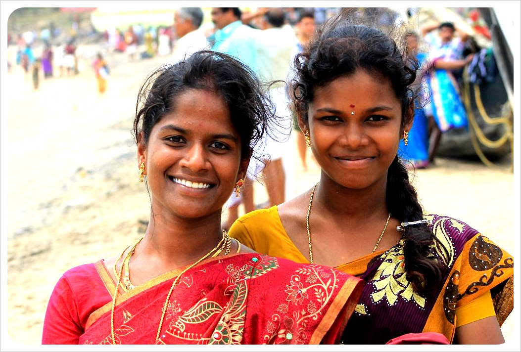 indian girls kovalam
