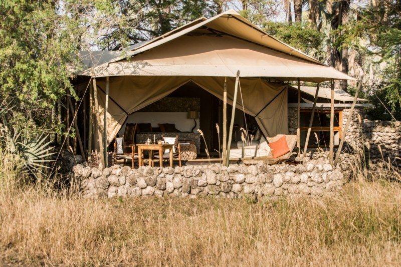 Tanzania tented camp
