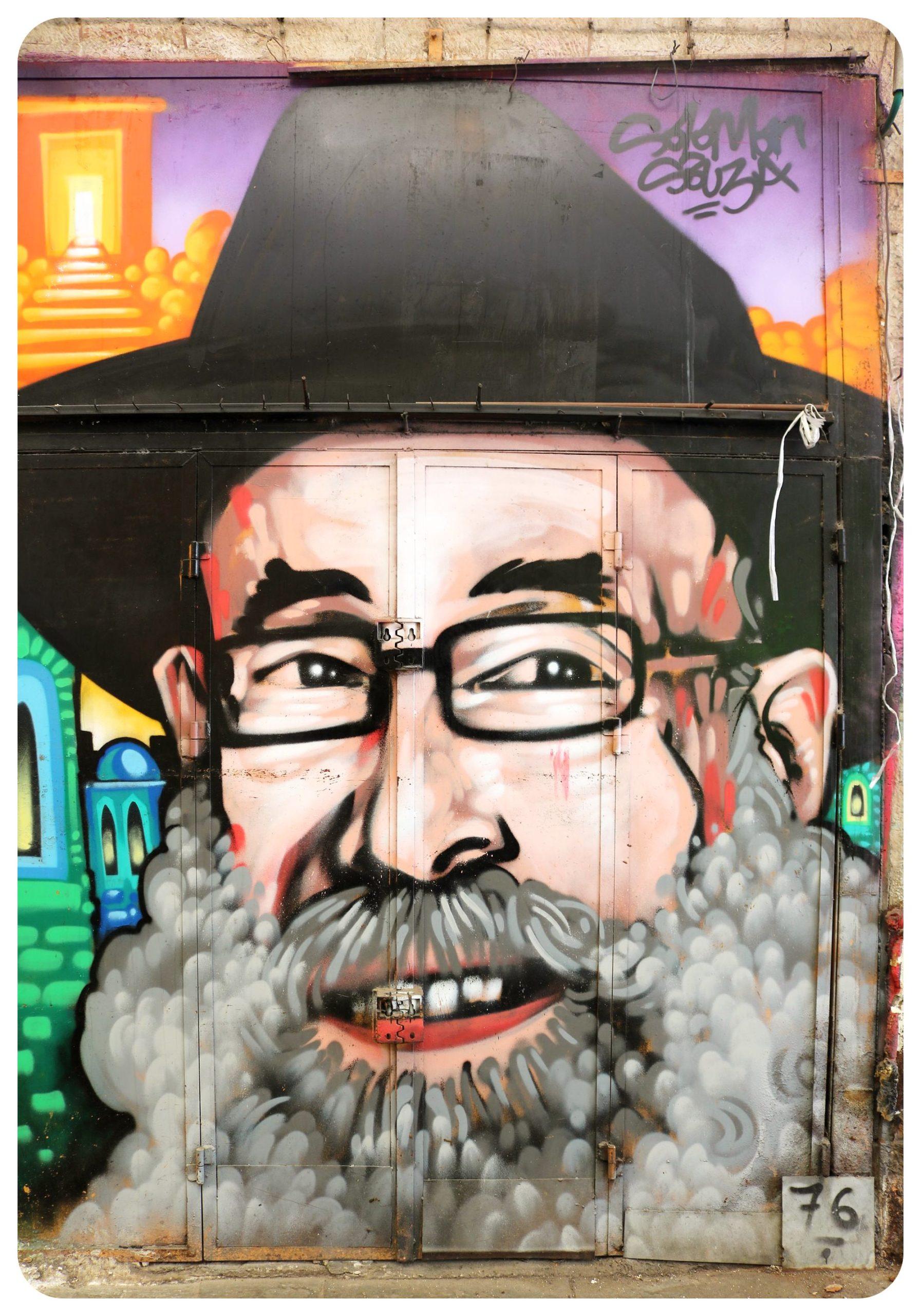 israel jerusalem market street art1