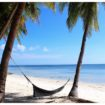 siquijor beach with hammock philippines1