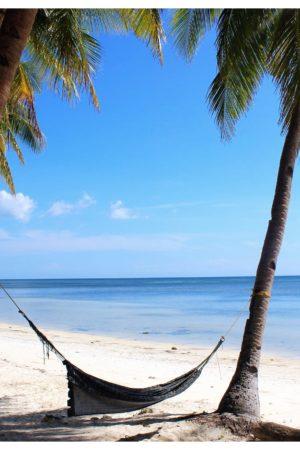 siquijor beach with hammock philippines1
