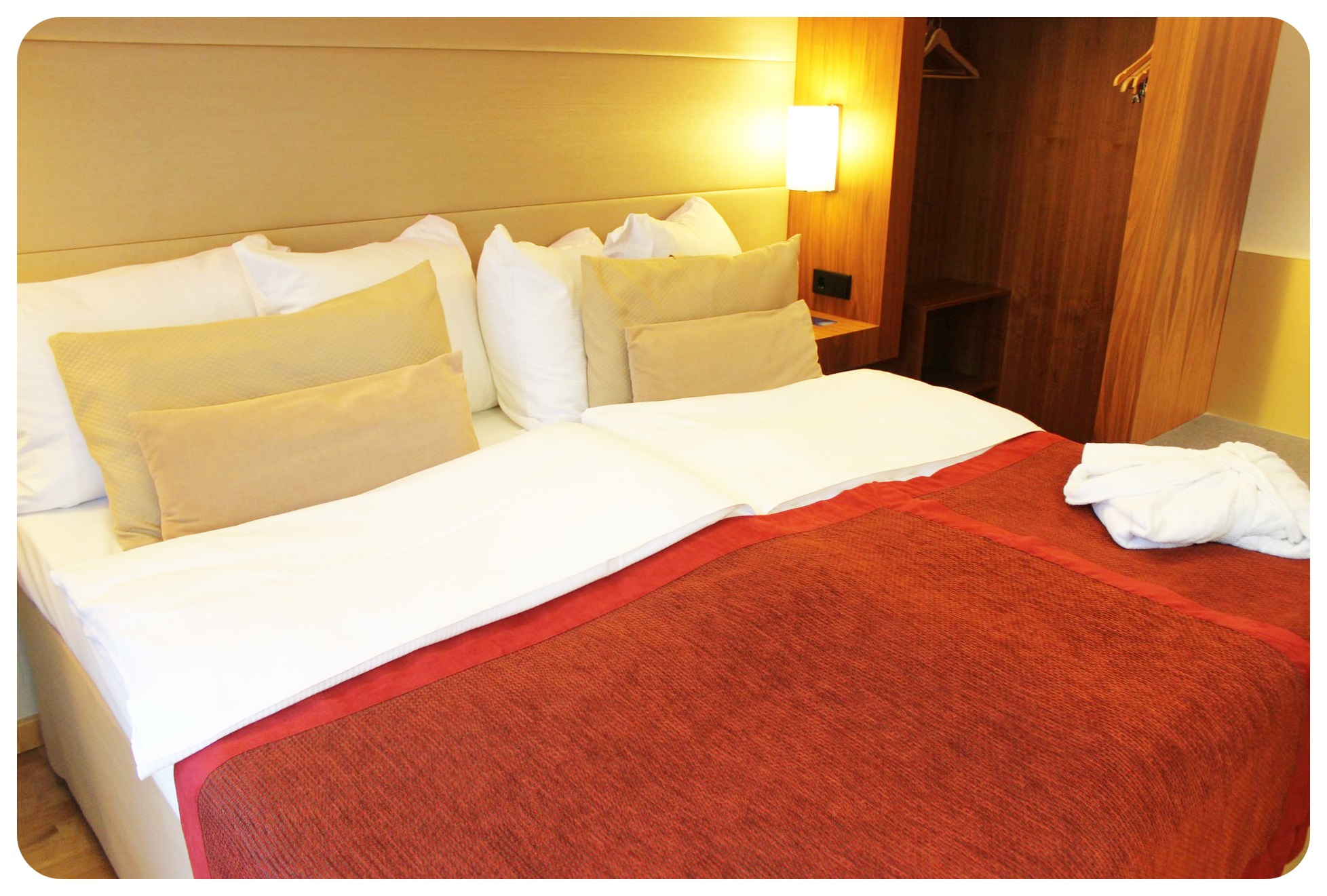 radisson blu royal bed