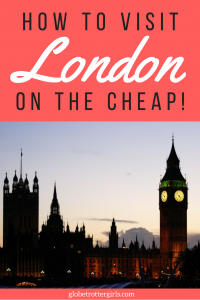 How to Visit London on the Cheap