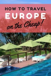europe on the cheap