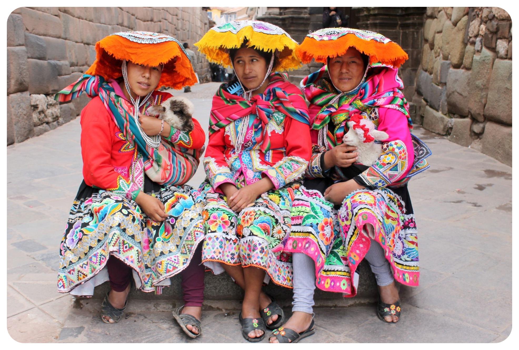 cuzco lamb ladies