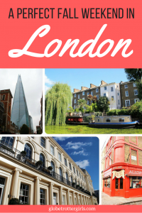 how to spend a weekend in London
