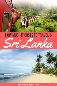 How Much it costs to travel in Sri Lanka